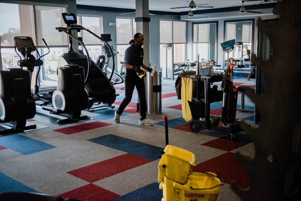 Gym Cleaning in Brentwood, Germantown, Midtown, Downtown, East Nashville, North Nashville, West Nashville, Nolensville, Goodlettesville,